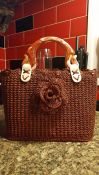 Beautiful bronze bag hand made