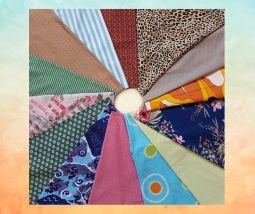 Fabrics for bag interior
