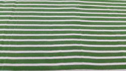 5046 piquet bianco/verde 155x140