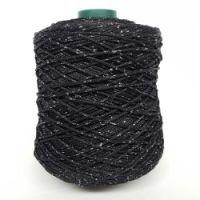 "Yarn ""Style Lurex 500"" color BLACK/SILVER"