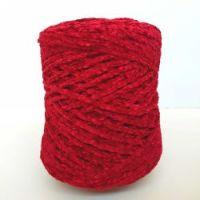 Chenille Yarn 250gr RED