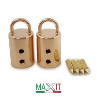 mod 47 Attacco manici cilindri- ORO (2 pezzi)