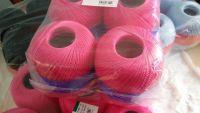 6 gomitoli cotone filo di scozia 100 grammi TITOLO 16