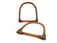 manici in vero bamboo, misura 12cmx12,5cm