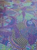 lycra stampata mosaico h 150