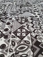poli stampato geometrico h 155