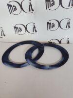 coppia manici ovali cm 18 blu