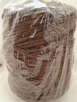 cordino treccia lana gr 300 MARRONE