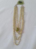 04 girocollo perline gialle