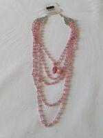04 girocollo perline rosa