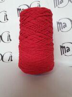 cordino treccia lana gr 300 rosso