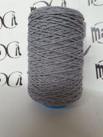 cordino treccia lana gr 300 grigio
