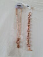 013collana e bracciale pietra rosa