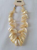 018 girocollo conchiglie oro