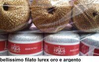 1 COTONELLO LUREX GOMITOLO DA 25 GR