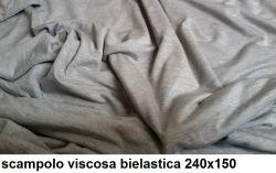 1120 scampolo viscosa bielastica grigio melange 240x150