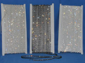 chain crystal rhinestones approximately 10 meters