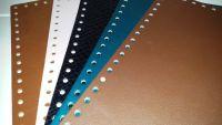 Rectangular Bag Bottoms - faux leather 30x15