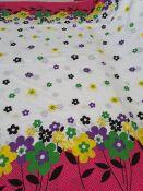 5112 tela di cotone fiori 150x190
