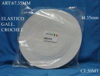 elastico h 3 cm bianco e nero mt 50